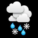 Eső és hó